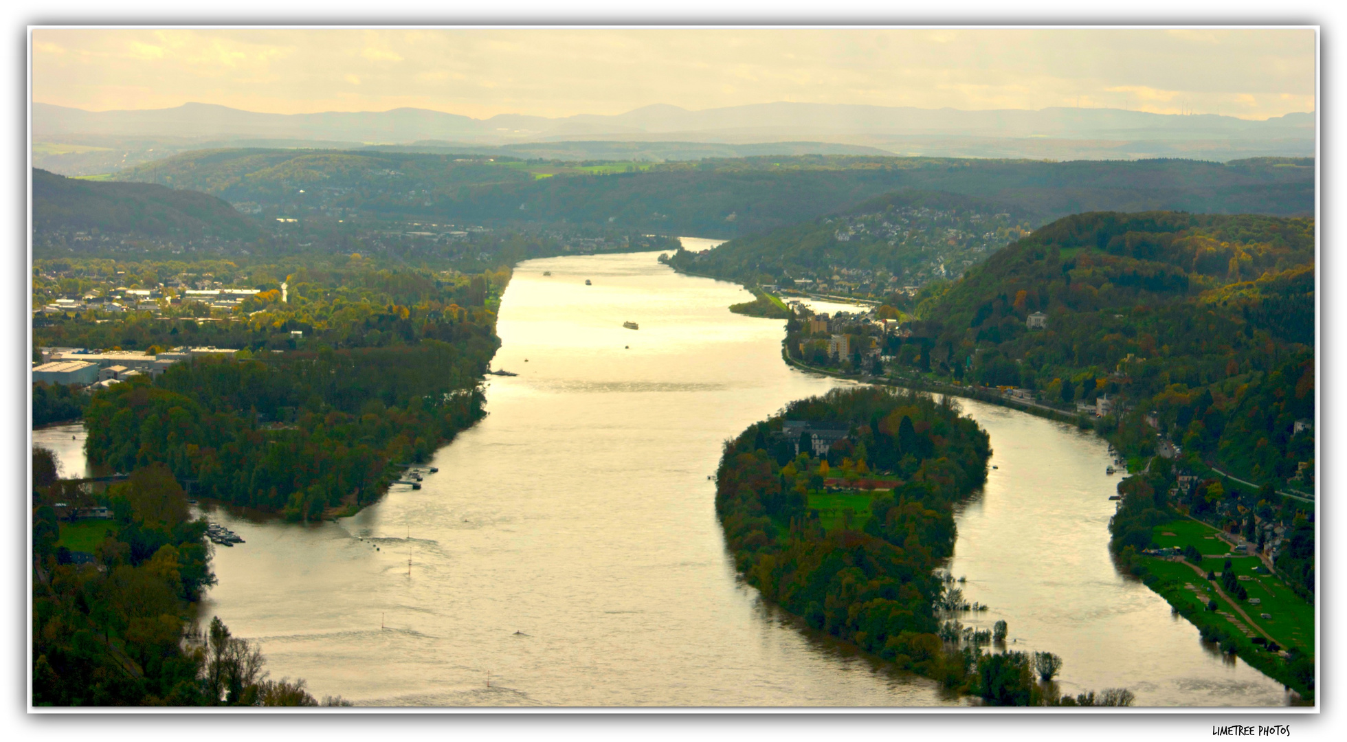 View from Drachenfels on the Rhine River (2)