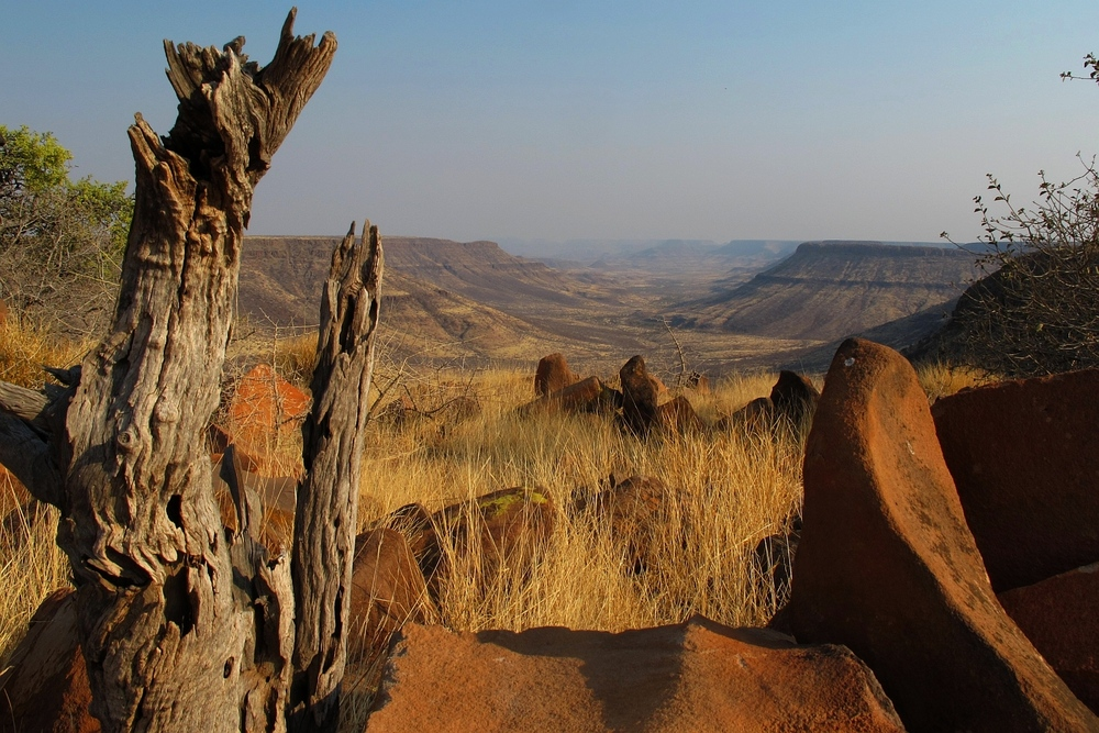 View from Grootberg Plateau (Namibia)