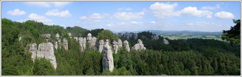 view from Hruba skala