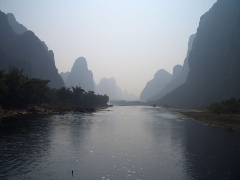 View from Li Jiang, Guilin