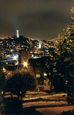 View from Lombard