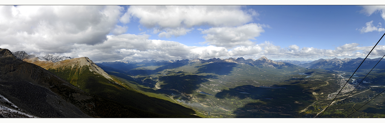 [ View from Mount Whistler ]