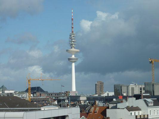 View from my office : TeleMichel Hamburg