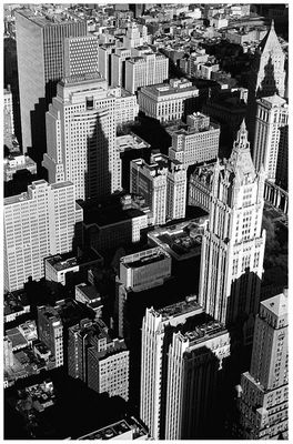 View From Nowhere. Downtown Manhatten, Spring 2001
