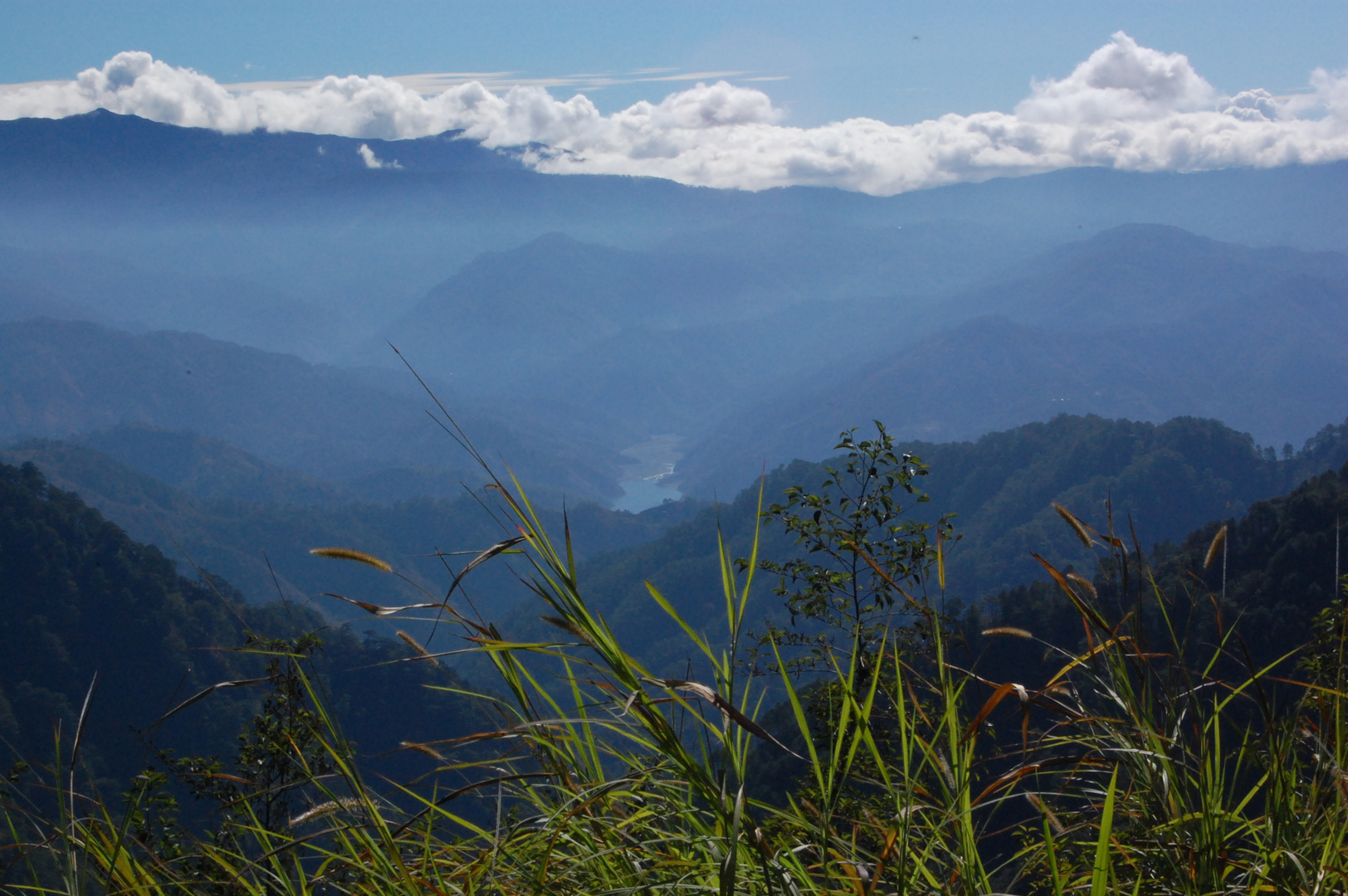 view from road baguio to bontok