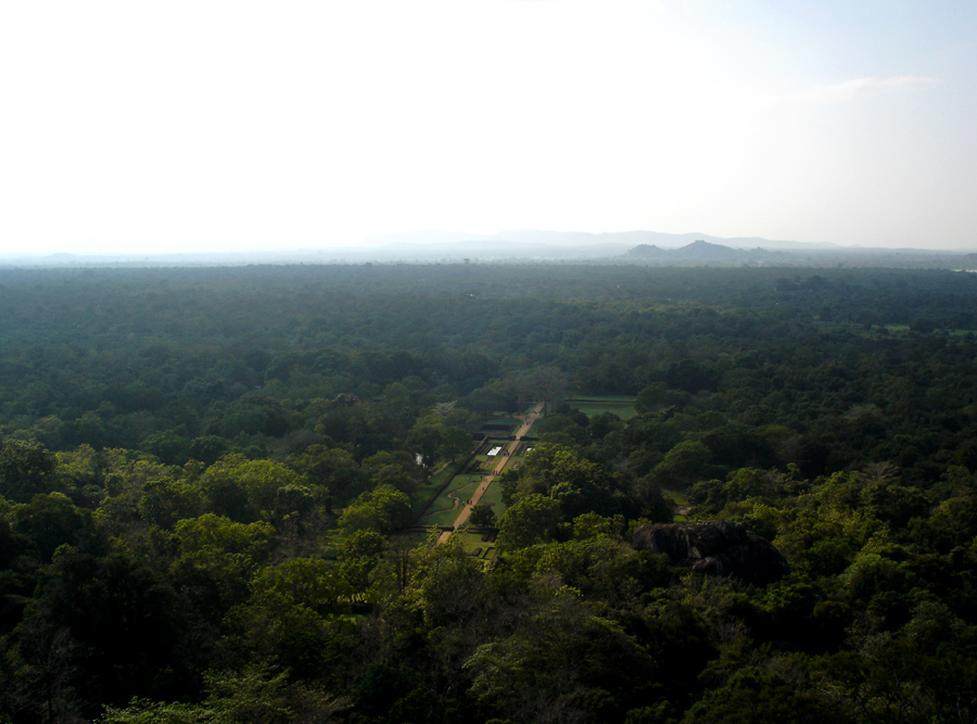 View from Sigiriya Rock, II