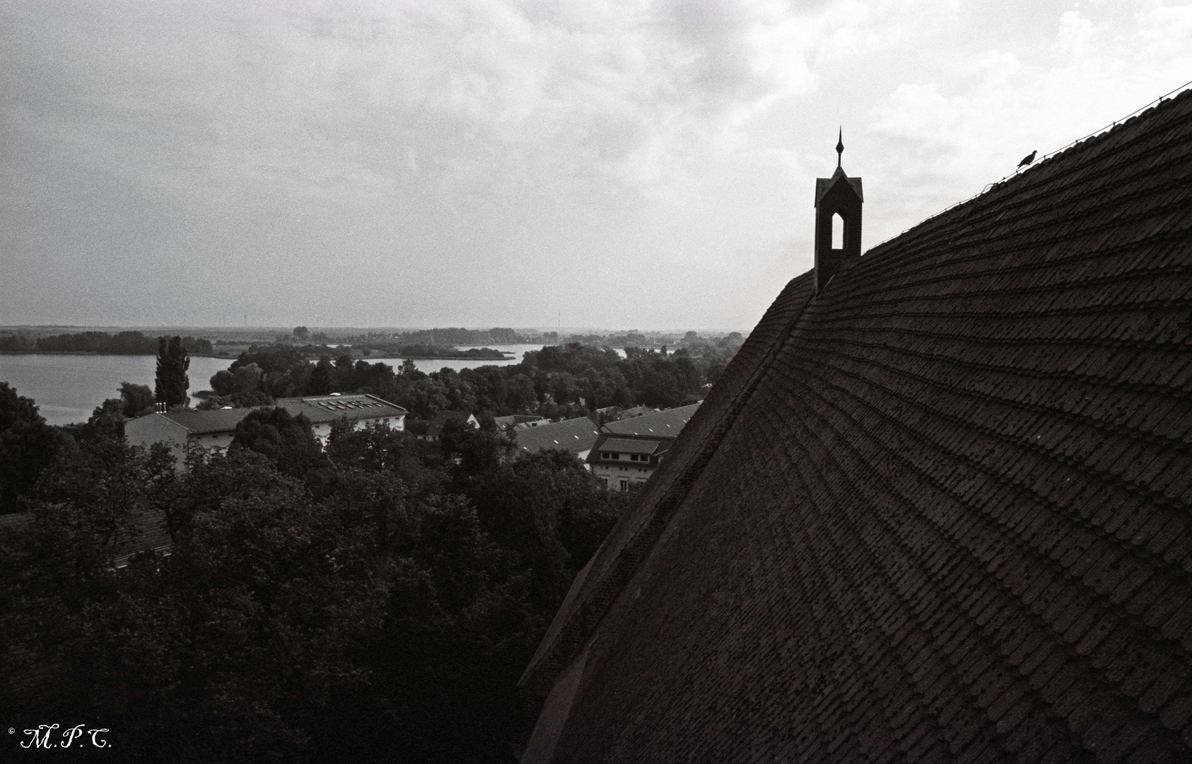 View from St. Mary's Church, Angermuende