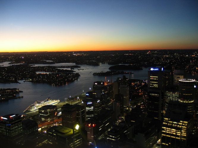 View from Sydney Tower 2