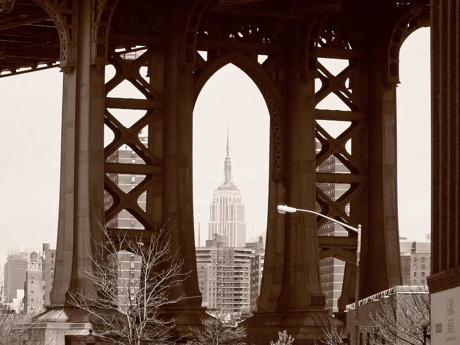 View from Washington St., Brooklyn