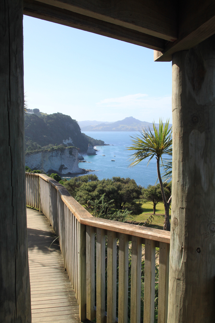 View of Cathedral Cove