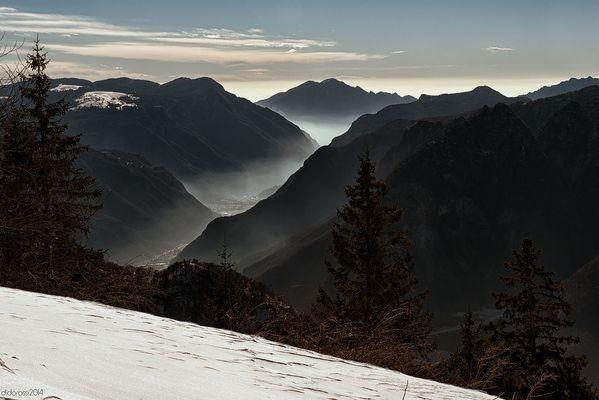 View of Val D'Astico - Veneto