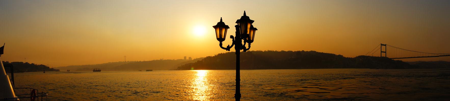 View on the Bosporus from Anadolu Hisari