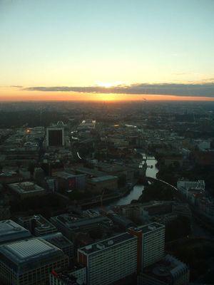 View over Berlin