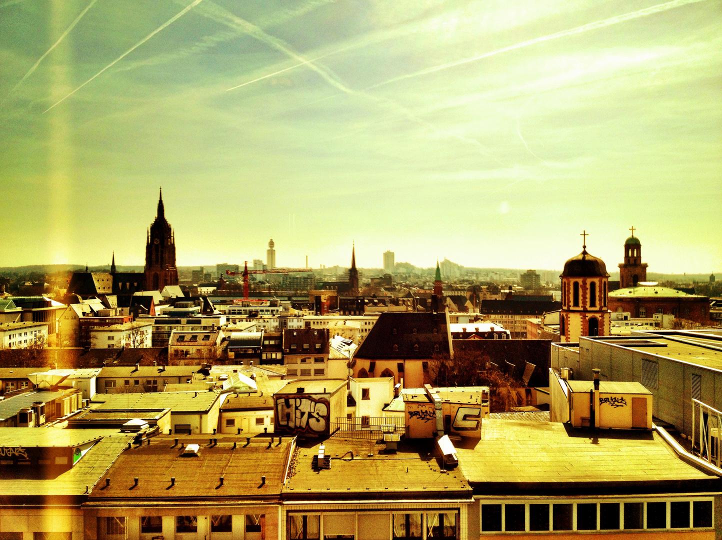 View over Frankfurt