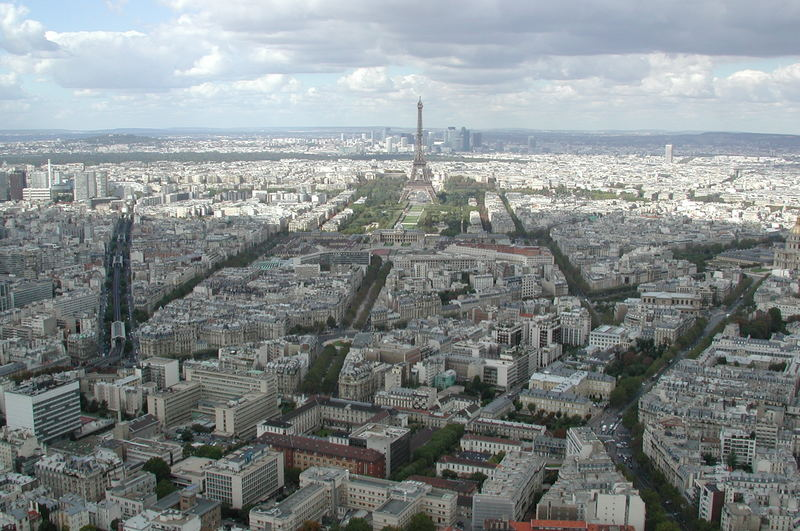 View over Paris