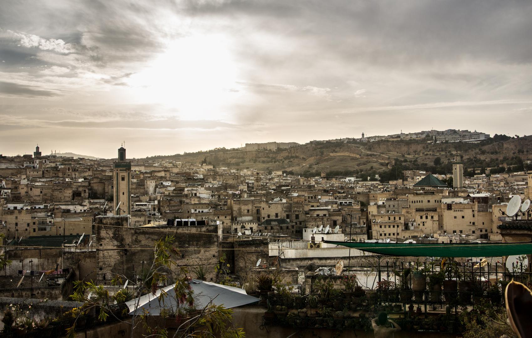 View over the medina of Fés