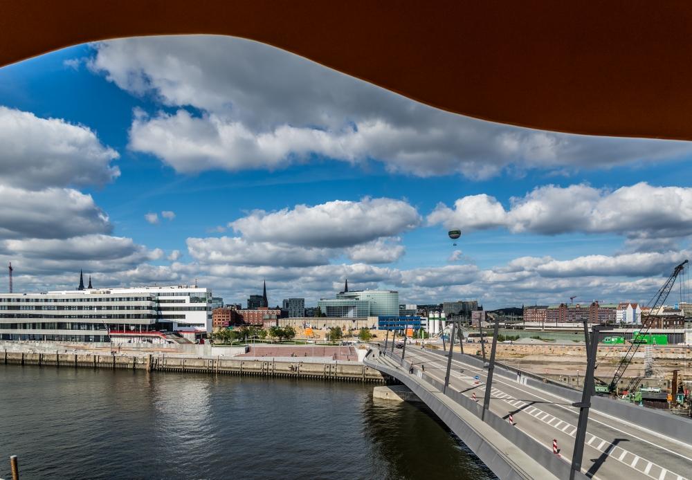 Viewpoint Baakenhafenbrücke