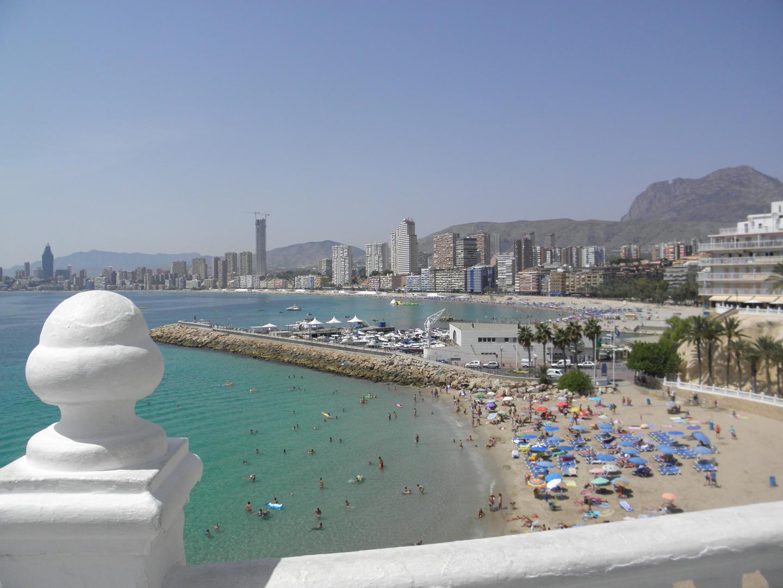 Viewpoint in Benidorm, Alicante, Spain