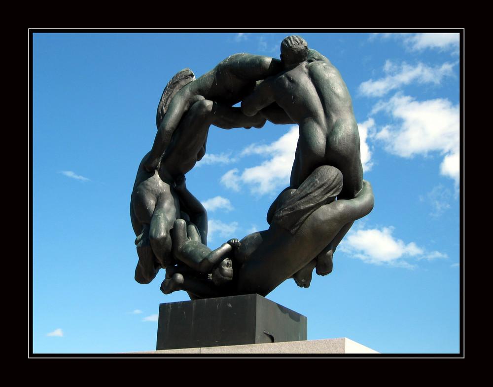 Vigeland-Skulptur Oslo / Norwegen