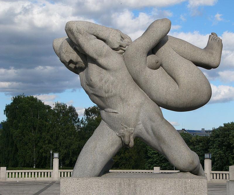 Vigeland-Skulpturenpark/Oslo