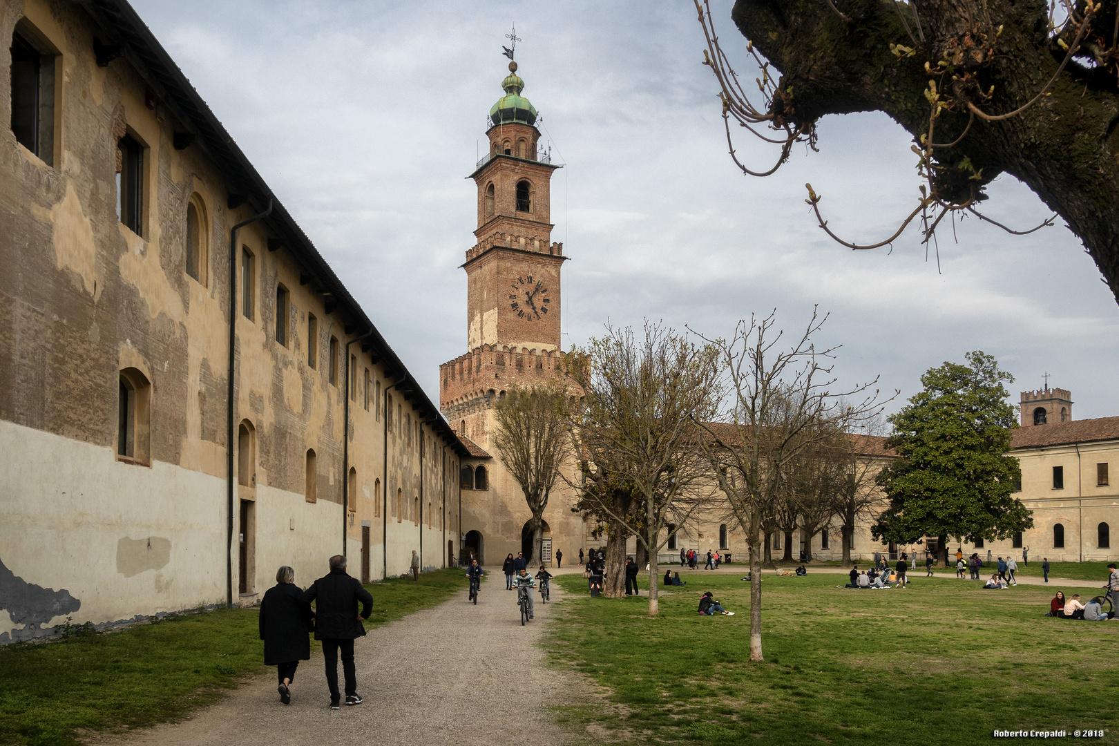 Vigevano, la torre del Bramante