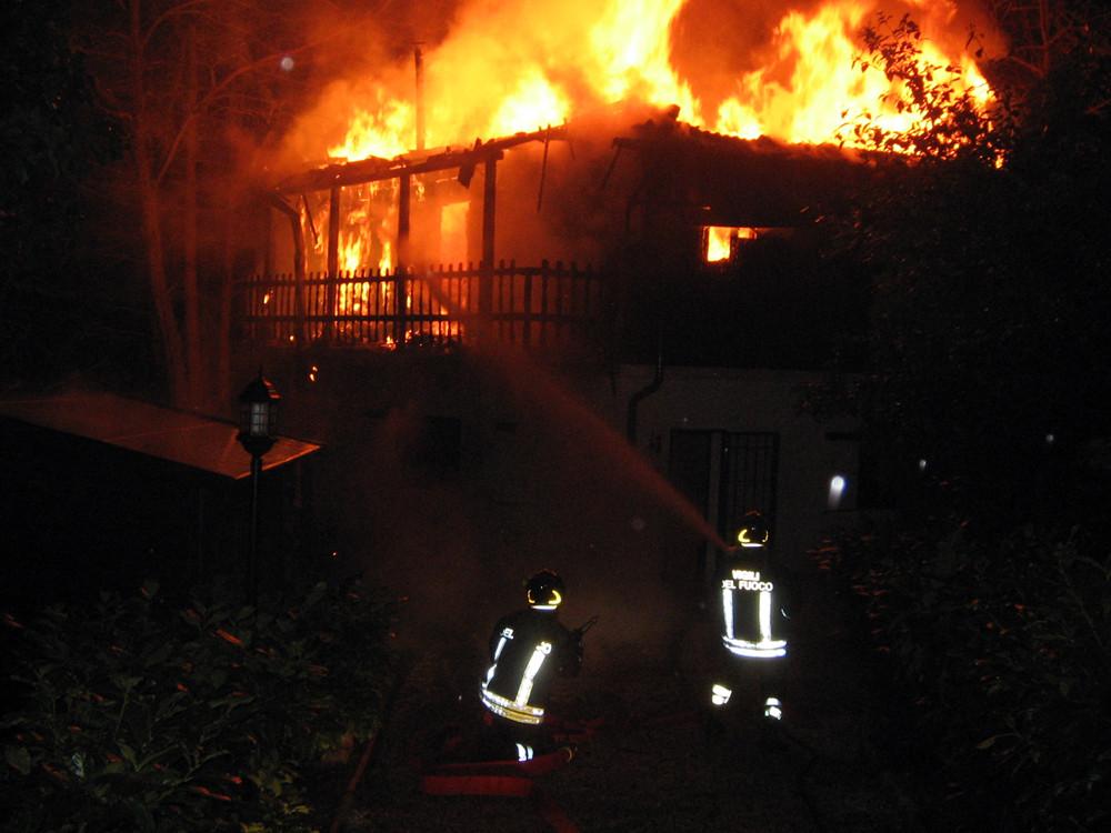 Vigili del Fuoco - Incendio abitazione