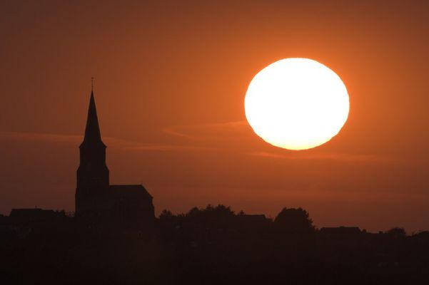 Vijlen, höchst gelegene Kirche der Niederlande