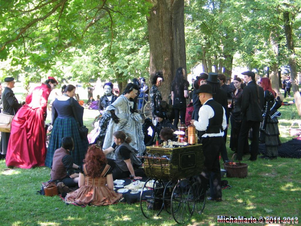 Viktorianisches Picknick 2012