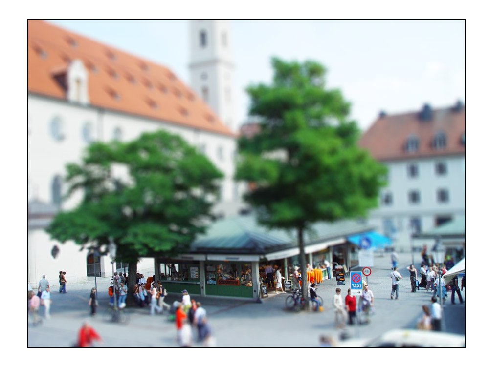 Viktualien-Tilt-Shift