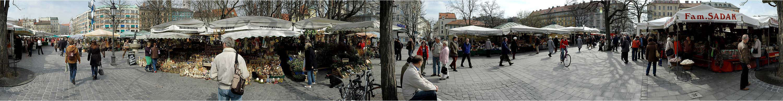 Viktualienmarkt in München II 360°