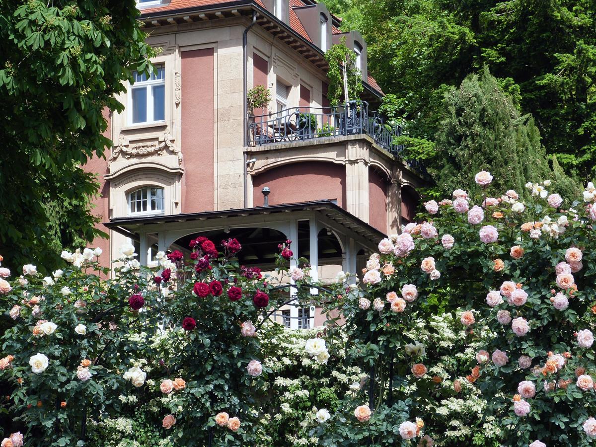 Villa am Stadtrand von Heidelberg