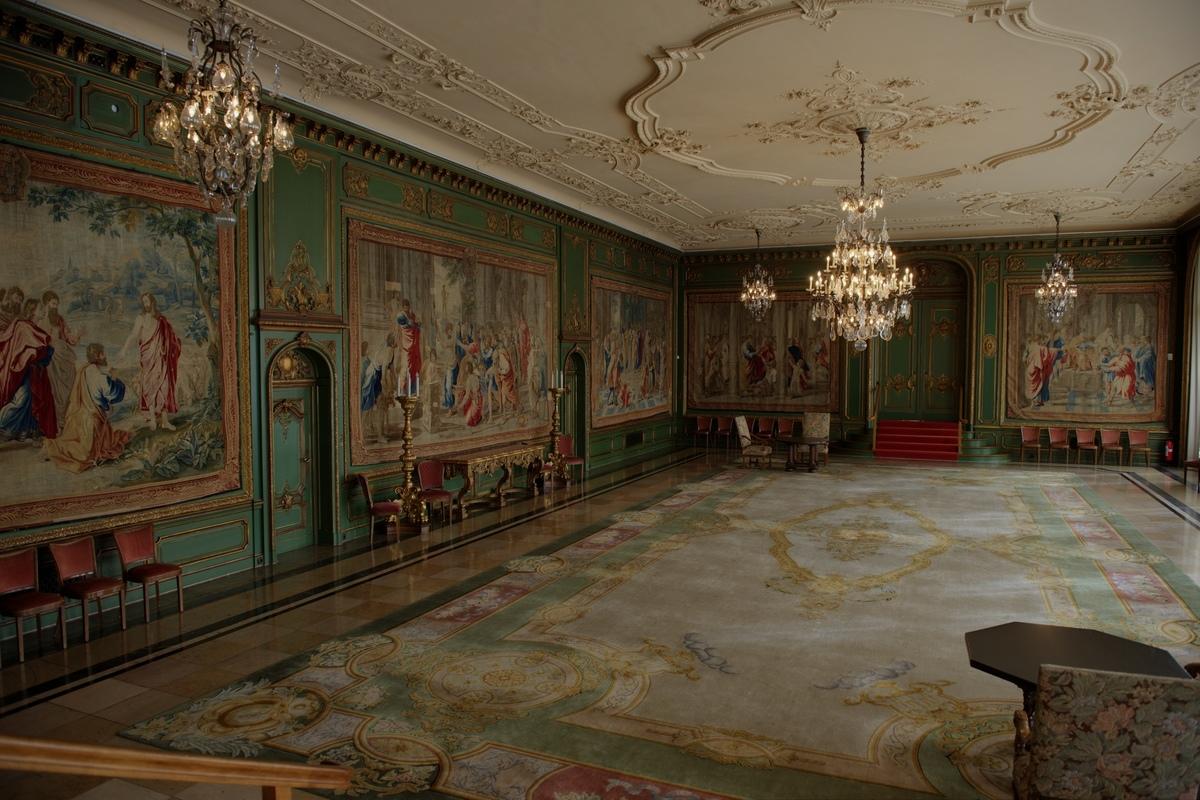 ~ Villa Hügel - Gartensaal ~