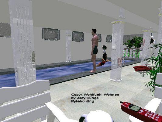 Villa in Wannsee Hallenschwimmbad