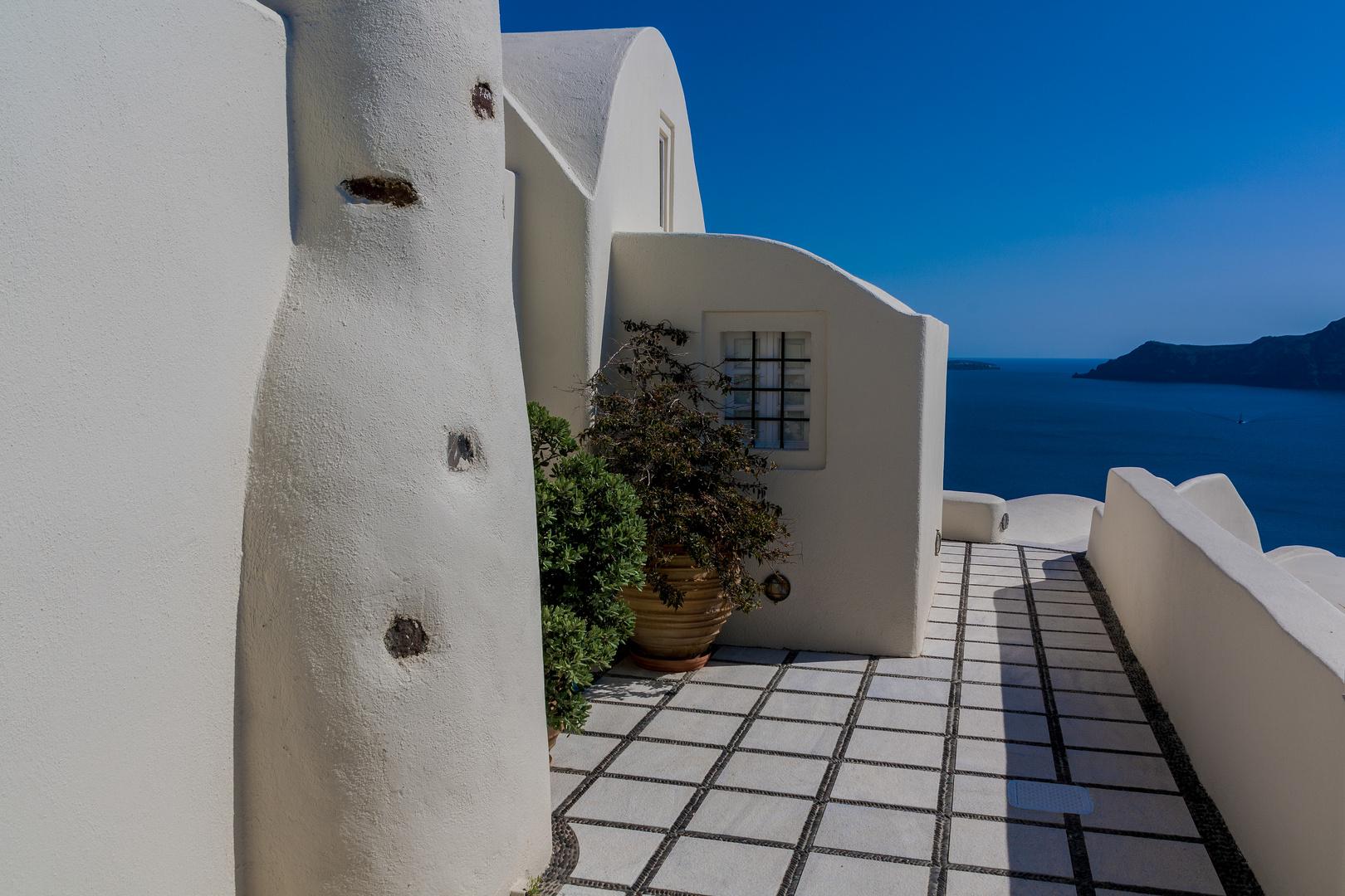 Villa mit Calderablick