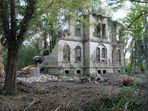 Villa Müller (4) - Der Abriss - Auch das sollte gelernt sein!