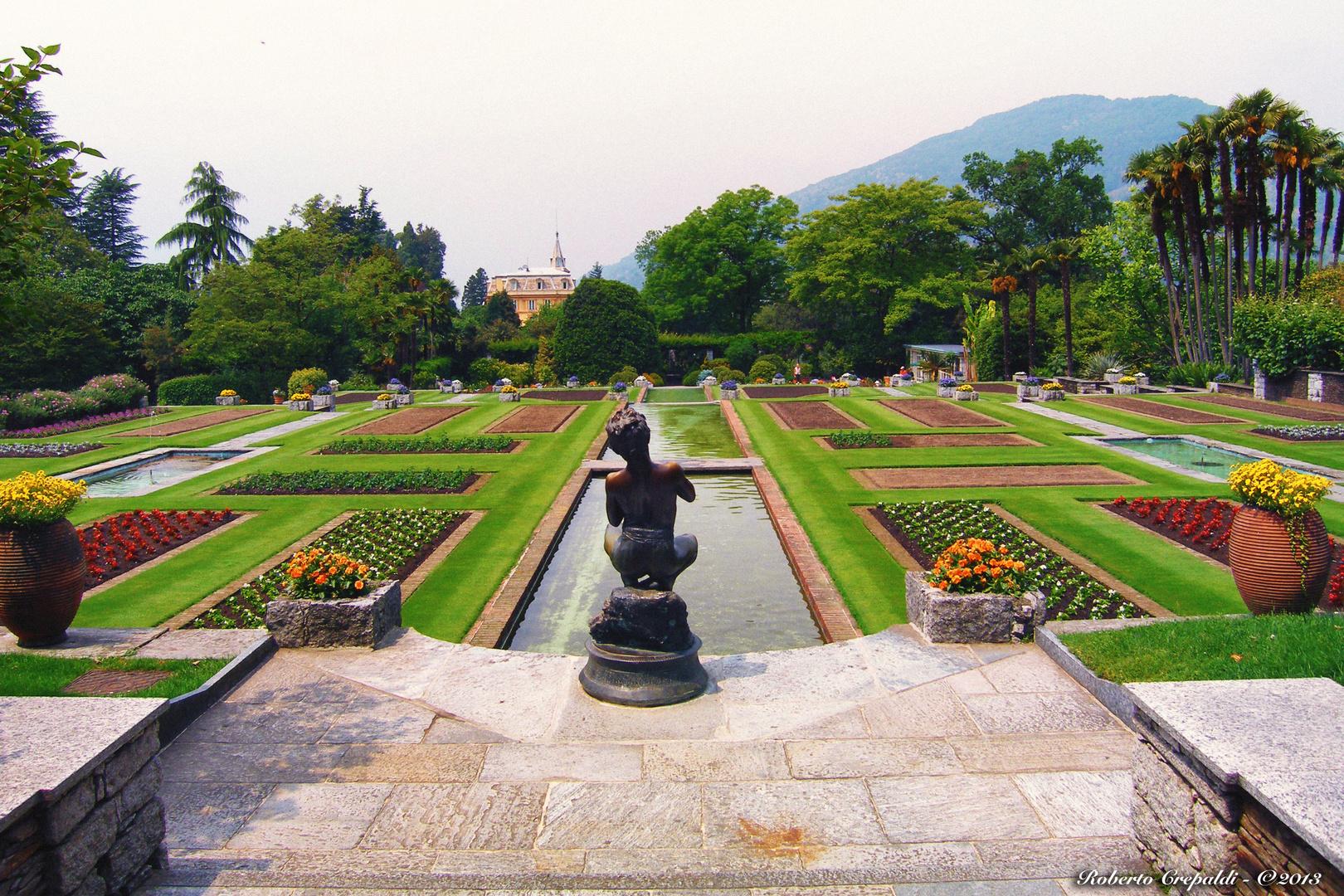 Villa Taranto, giardini terrazzati Foto % Immagini| architetture ...