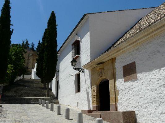 Village blanc d'ANTEQUERA / Andalousie juin 2008