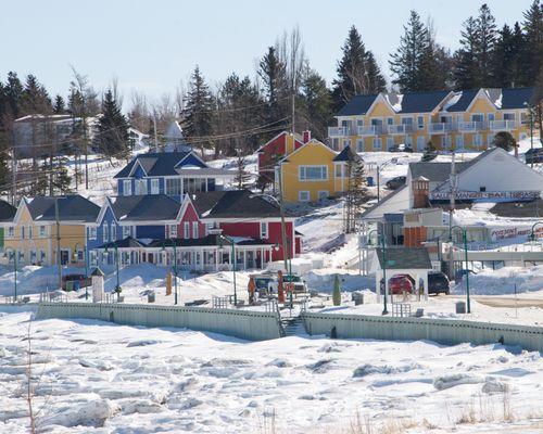 Village côtier gaspésien, Québec