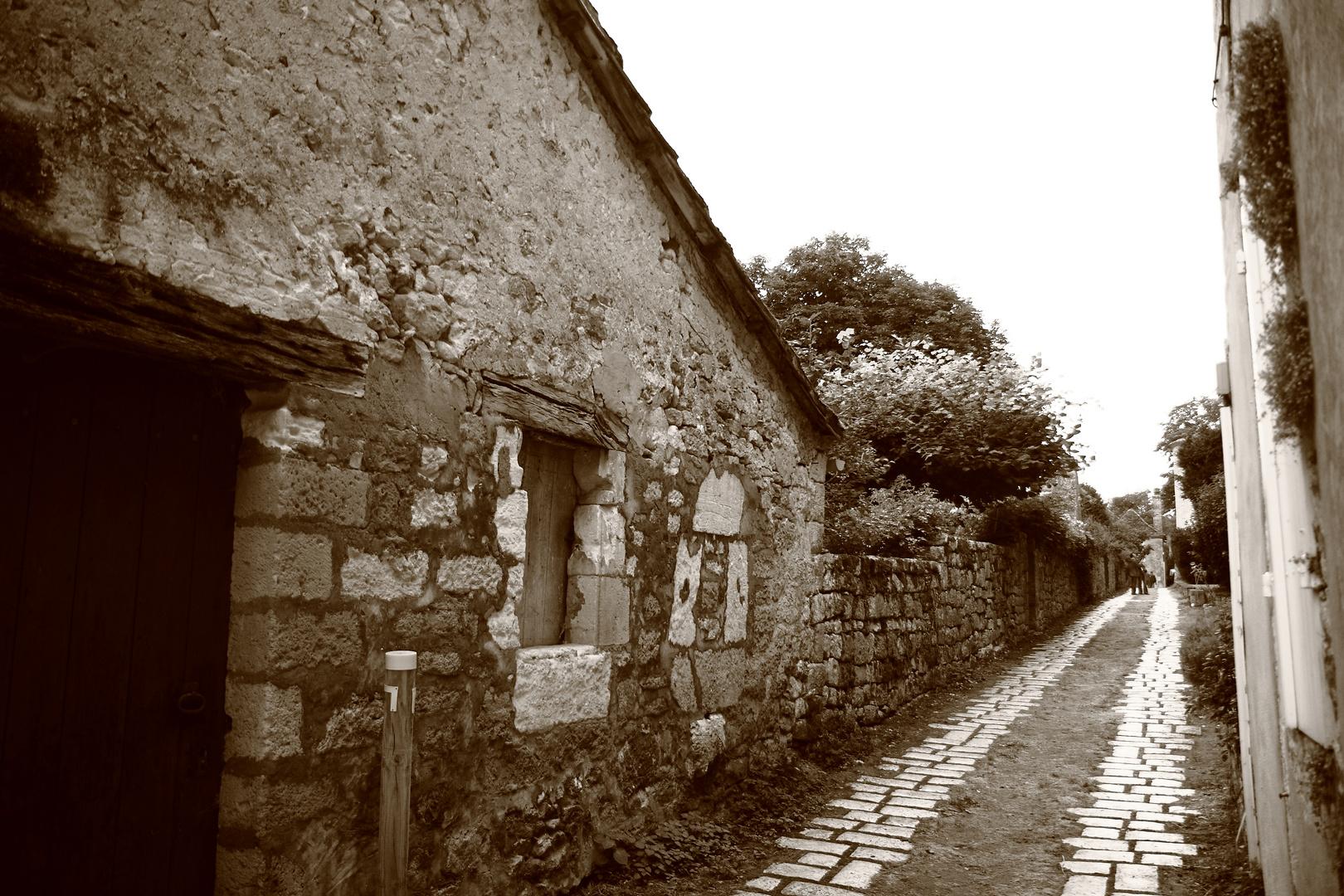 Village dans le Périgord noir