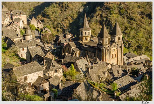 Village de Conques.