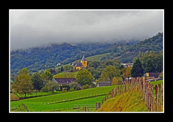 Village de la Haute-Soule - Alçay - Pays Basque Français