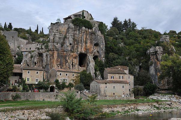 Village de Labeaume (Ardèche)