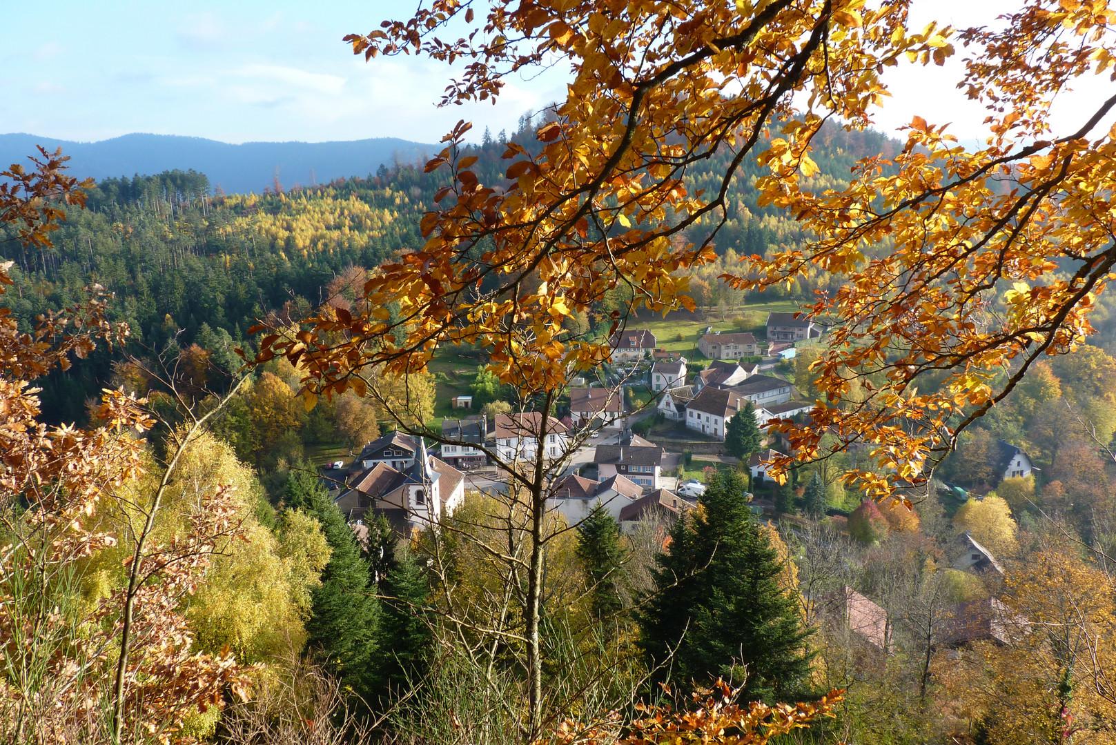 Village de Pierre-Percée