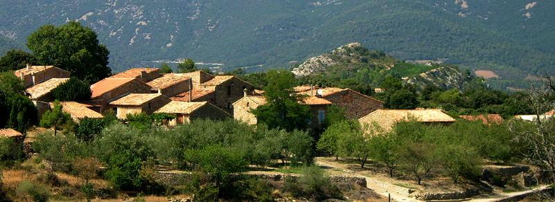 Village du sud de la France