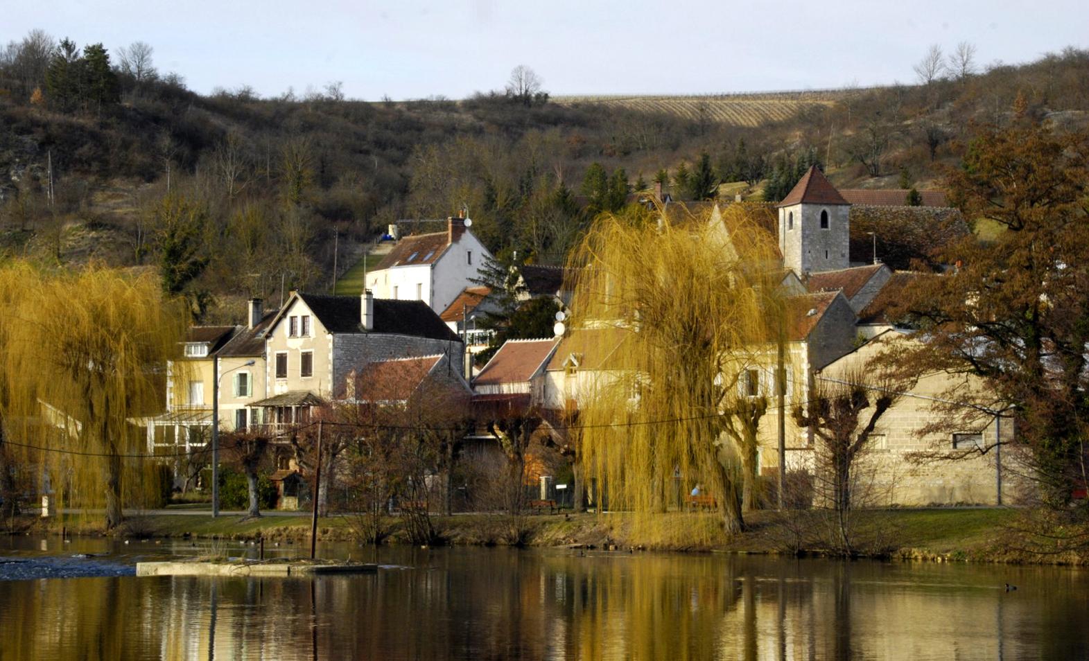 Village en Bourgogne.