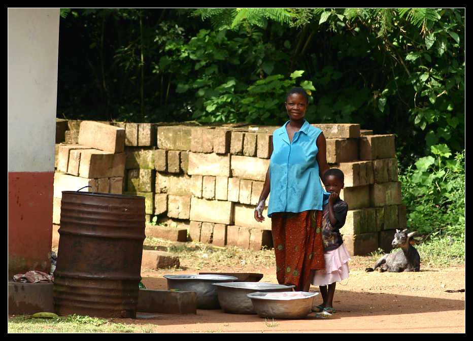 ... Village Life, Tafi Atome, Ghana ...