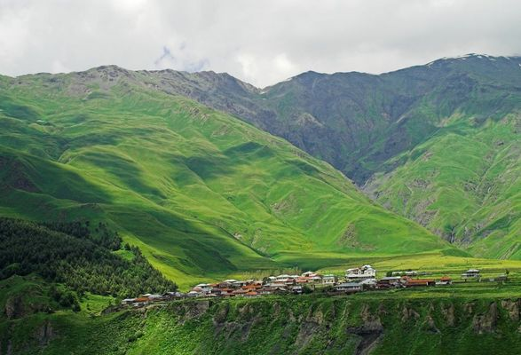 Village near Kasbegi, Georgia