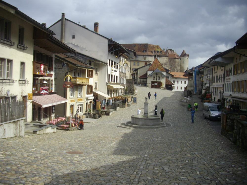 Village près de Gruyères.