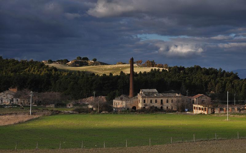 "Villaggio minerario "" Grottacalda "" Enna"