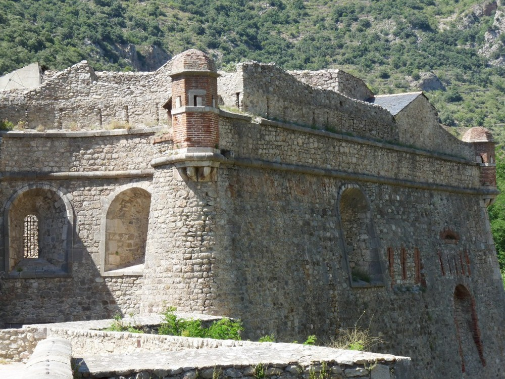VILLEFRANCHE de CONFLENT(Pyrénées orientales)